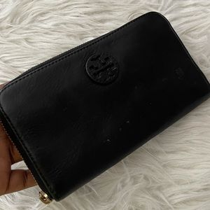 Tory Burch bombe continental zip wallet